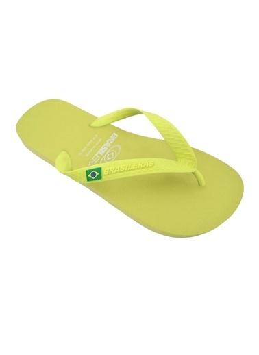 Brasileras Plaj Terliği Sarı